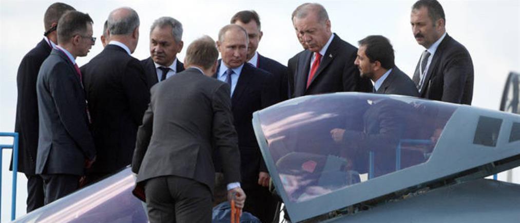 """""""Σήμα"""" του Ερντογάν για τα Su-35 και νέες προκλήσεις στο Αιγαίο"""