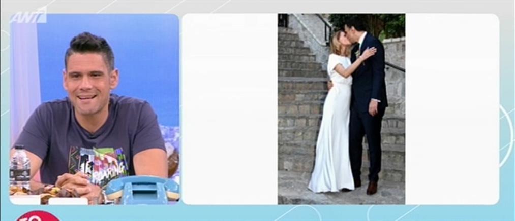 """""""Το Πρωινό"""": όλα όσα έγιναν στο γάμο Μπαλατσινού - Κικίλια (βίντεο)"""