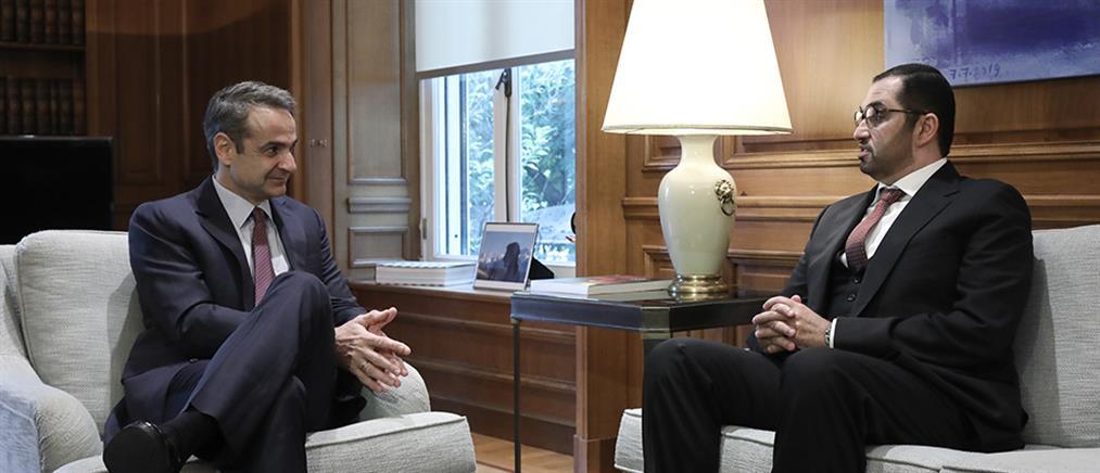 Μητσοτάκης: ευρεία και σε βάθος στρατηγική εταιρική η σχέση με τα Αραβικά Εμιράτα