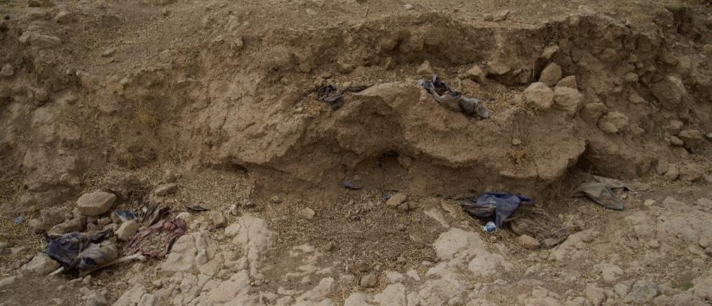 Δύο ομαδικοί τάφοι βρέθηκαν στην Ράκα