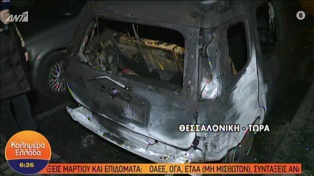 Οχήματα του υπουργείου Πολιτισμού τυλίχτηκαν στις φλόγες στο Βυζαντινό Μουσείο