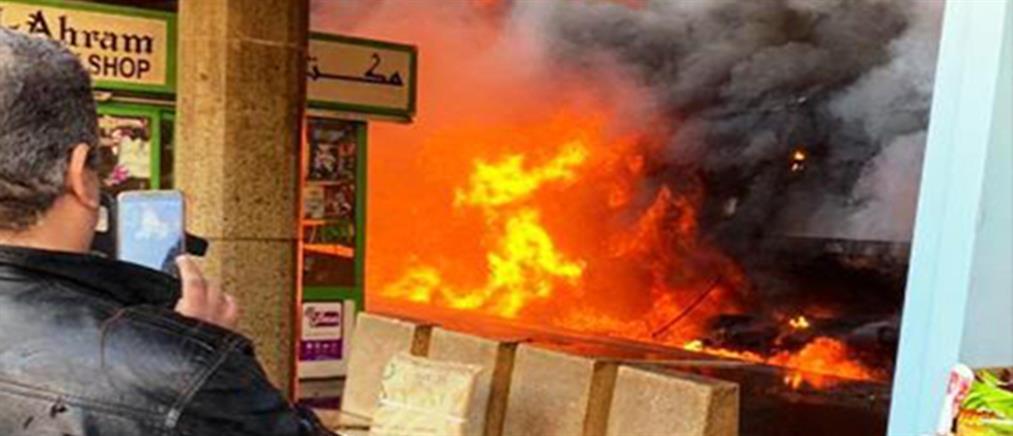 Σοκαριστικές εικόνες από το μακελειό σε σιδηροδρομικό σταθμό στο Κάιρο (βίντεο)
