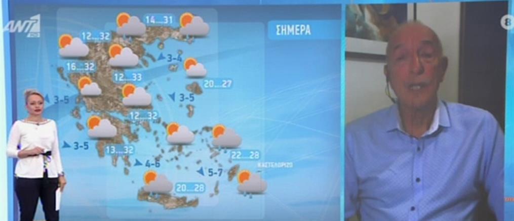 Καιρός - Αρνιακός: Έρχεται σκόνη από την Αφρική (βίντεο)