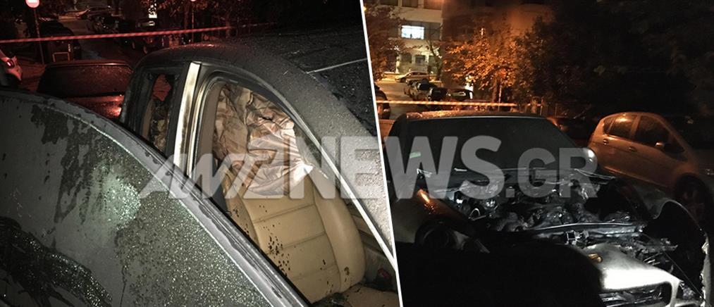 Εμπρησμός αυτοκινήτων στο Κολωνάκι (εικόνες)