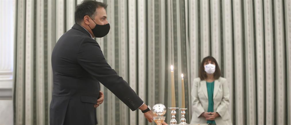 Θεόδωρος Πελαγίδης: ορκίστηκε Υποδιοικητής στην Τράπεζα της Ελλάδος