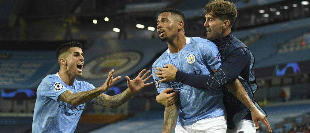 Champions League: Μάντσεστερ Σίτι και Λυών προκρίθηκαν στο Final-8