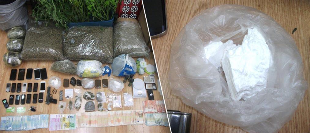 Εξαρθρώθηκαν δυο εγκληματικές οργανώσεις διακίνησης ναρκωτικών