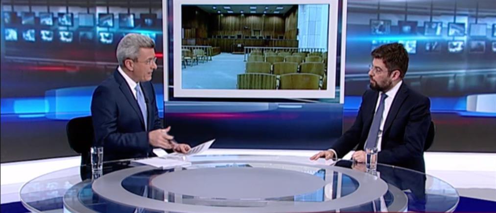 Καλογήρου στον ΑΝΤ1: θα υπάρξει τροποποίηση στις διατάξεις του νέου Ποινικού Κώδικα (βιντεο)