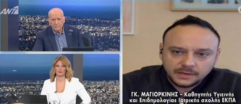 Μαγιορκίνης στον ΑΝΤ1: μεγάλο στοίχημα το άνοιγμα της κίνησης από το εξωτερικό (βίντεο)