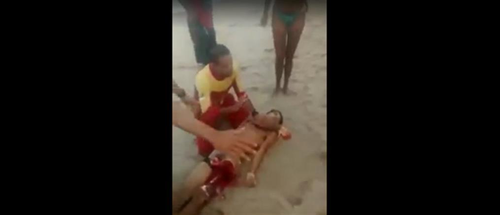 Βίντεο σοκ: καρχαρίας ακρωτηρίασε το πέος νεαρού σέρφερ