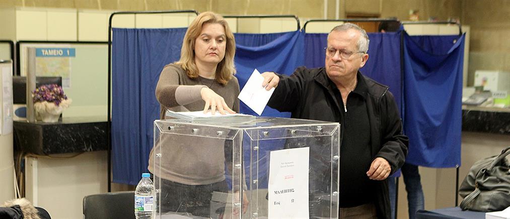 Ομαλά η εκλογική διαδικασία στη ΝΔ
