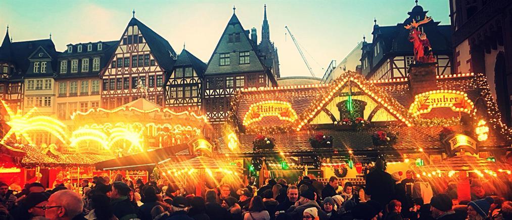 Συναγερμός σε χριστουγεννιάτικη αγορά στη Φρανκφούρτη λόγω ύποπτου πακέτου