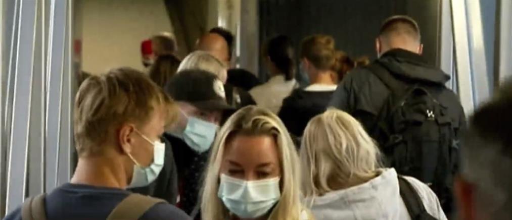 Έφτασαν στη χώρα μας οι πρώτοι τουρίστες από τη Δανία (βίντεο)