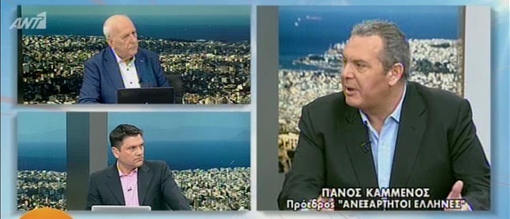 Καμμένος στον ΑΝΤ1: θα επιδιώξουμε κυβέρνηση εθνικής ενότητας με όλους (βίντεο)