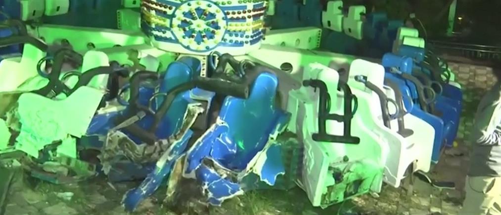 Νεκροί και τραυματίες σε δυστύχημα σε λούνα παρκ (βίντεο)