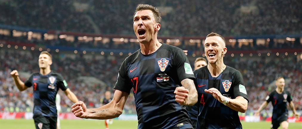 """Μουντιάλ 2018: ανατροπή και """"επική"""" πρόκριση στον τελικό για την Κροατία!"""