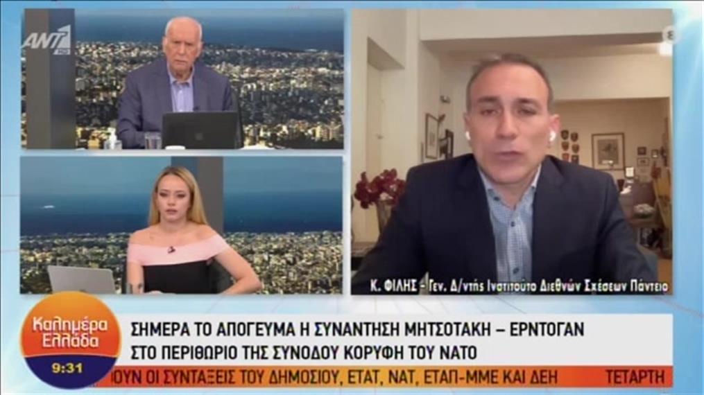 """Ο Κωνσταντίνος Φίλης στο """"Καλημέρα Ελλάδα"""""""
