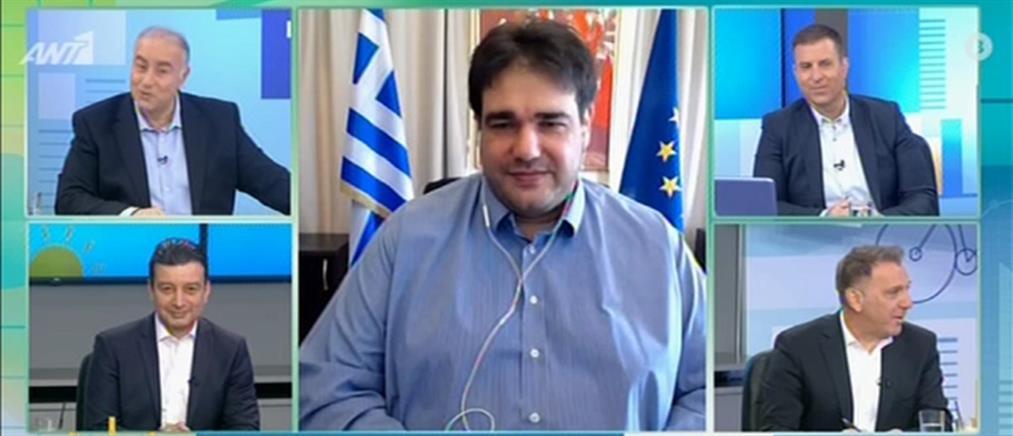 Λιβάνιος στον ΑΝΤ1 για εστίαση: δωρεάν η επέκταση τραπεζοκαθισμάτων (βίντεο)