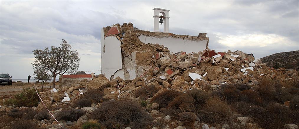 Σεισμός στην Κρήτη: ανησυχία για τη φτωχή μετασεισμική ακολουθία