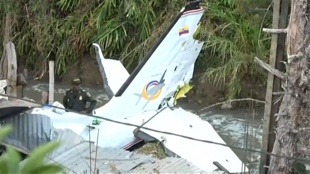 Συντριβή μικρού αεροπλάνου στην Κολομβία