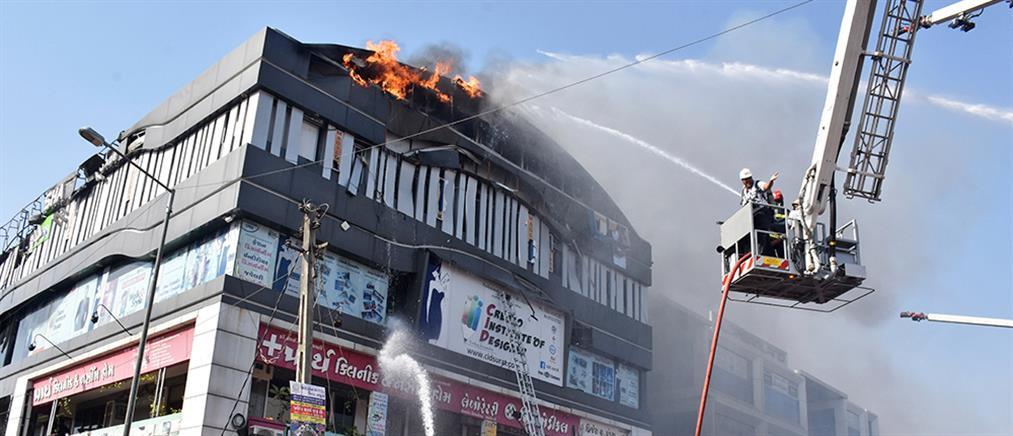 Φονική πυρκαγιά στην Ινδία με θύματα μικρούς μαθητές (βίντεο)