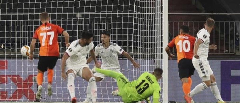 """Europa League: Στους """"4"""" η Σαχτάρ"""