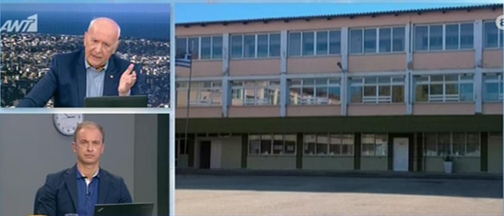 Τι είπε στον ΑΝΤ1 η διευθύντρια σχολείου όπου μαθητής έπεσε από την στέγη (βίντεο)
