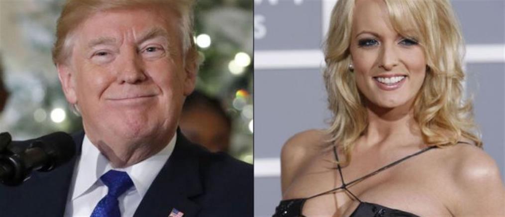 H πορνοστάρ Στόρμι Ντάνιελς μηνύει τον Τραμπ