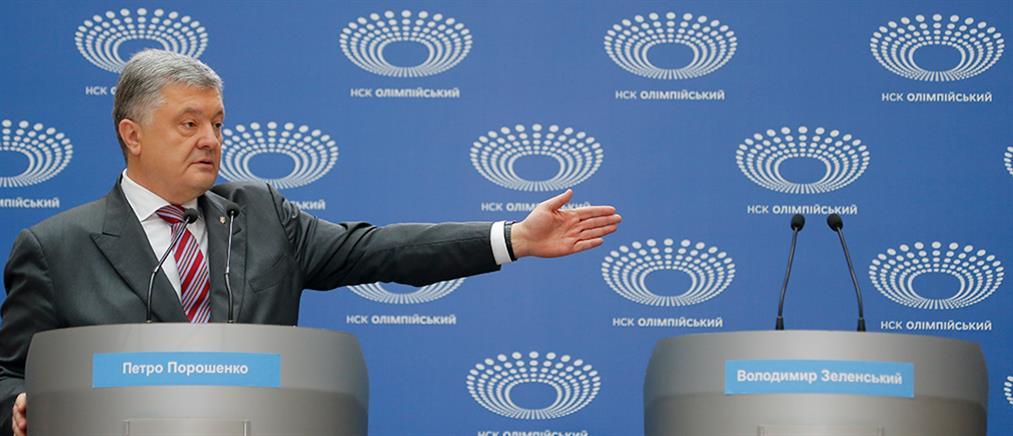 Ο Ποροσένκο έκανε… debate μόνος του (βίντεο)