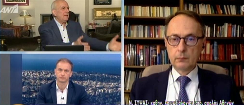 Σύψας στον ΑΝΤ1: δεν επιτρέπεται καμιά χαλάρωση με τον κορονοϊό (βίντεο)