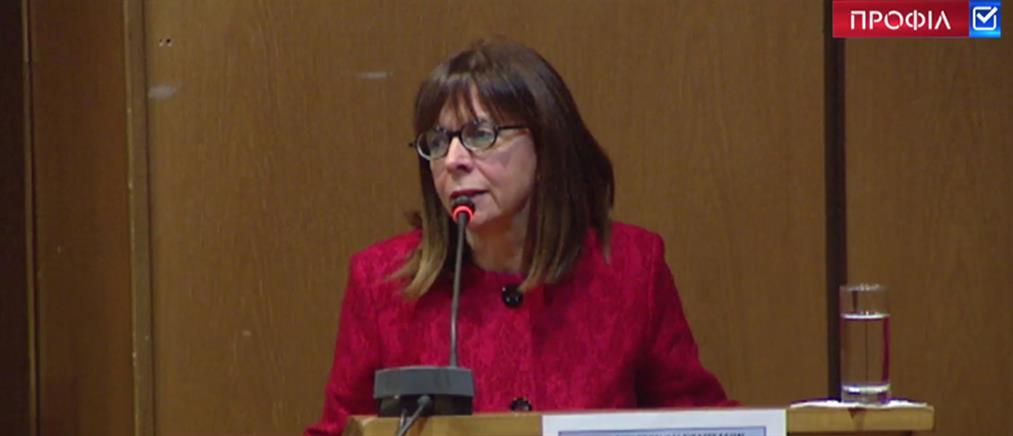 Αικατερίνη Σακελλαροπούλου: η πορεία μέχρι το Προεδρικό Μέγαρο (βίντεο)