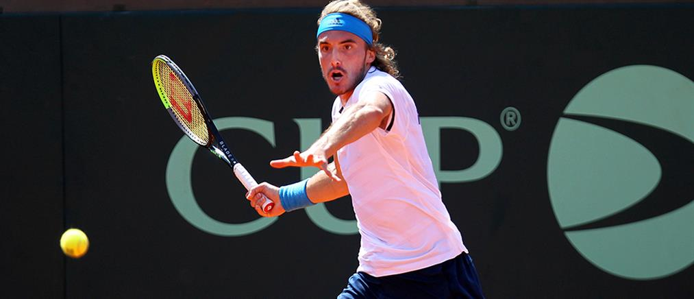 Davis Cup: Εκπληκτικός ο Τσιτσιπάς