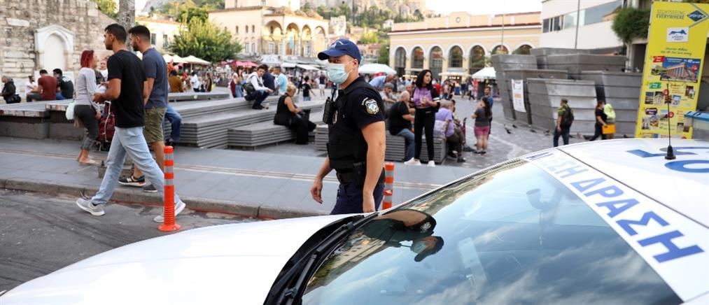 """Κορονοϊός: επεισόδιο με αστυνομικούς και σύλληψη ζεύγους σε """"κόκκινη"""" περιοχή"""