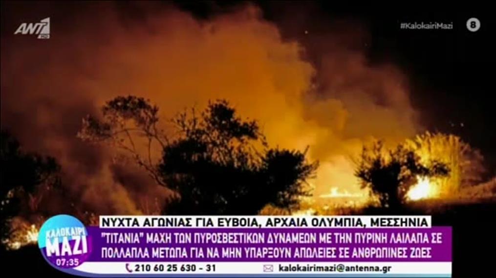 """Ο Βασίλης Γιαννόπουλος στο """"Καλοκαίρι Μαζί"""""""