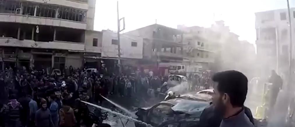 """""""Λουτρό"""" αίματος στη Συρία (βίντεο)"""