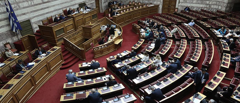 """Βουλή: """"θύελλα"""" για την τροπολογία που αφορά τα προσόντα του διοικητή της ΕΥΠ"""