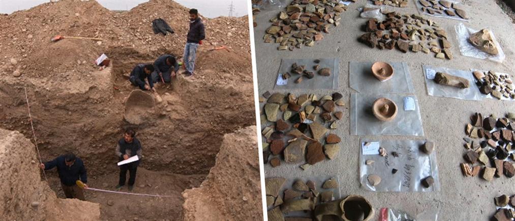 Πήγαν να χτίσουν και βρήκαν αρχαία (εικόνες)