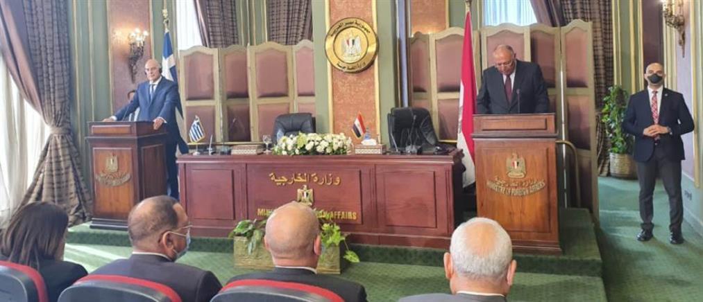 Δένδιας: Η συμφωνία με την Αίγυπτο κατοχυρώνει πλήρως τα εθνικά συμφέροντα