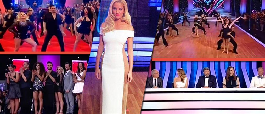 Dancing With the Stars: Έλαμψαν τα αστέρια του στην πρεμιέρα!