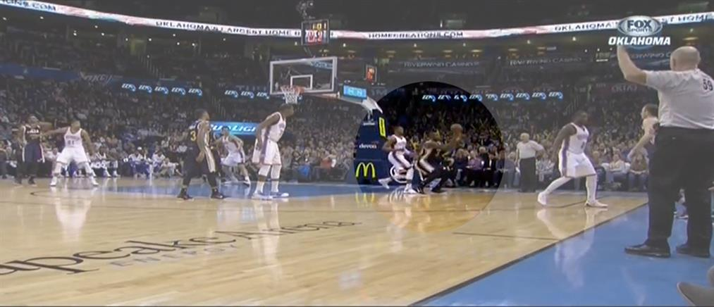 Το πιο απίστευτο καλάθι στην ιστορία του NBA (ΒΙΝΤΕΟ)