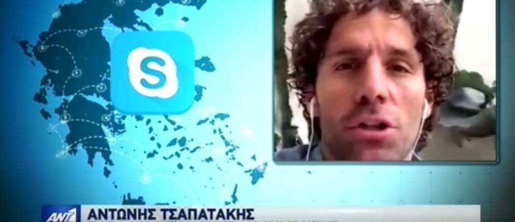 Ο Αντώνης Τσαπατάκης στον ΑΝΤ1 για τα viral μηνύματά του (βίντεο)