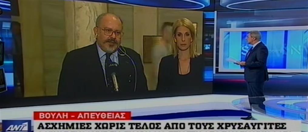 """Ξυδάκης στον ΑΝΤ1: δεν θα επιτρέψουμε στη ΧΑ να μετατρέψει την Ελληνική Δημοκρατία σε """"Δημοκρατία της Βαϊμάρης"""""""