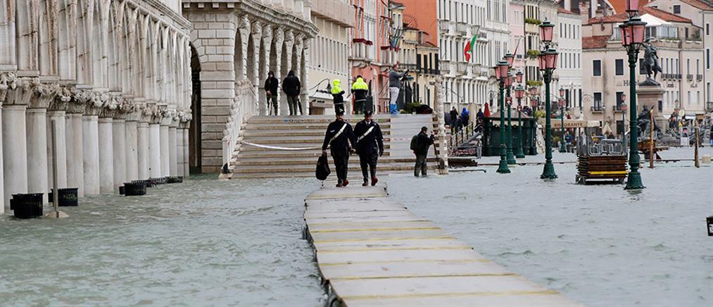 Βενετία: πλημμύρισε για τρίτη φορά μέσα σε μια εβδομάδα (βίντεο)