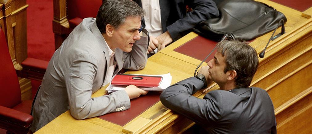 Τσακαλώτος: δεν υπάρχει σύμπτωση με την ΝΔ για την μείωση πλεονασμάτων και φόρων