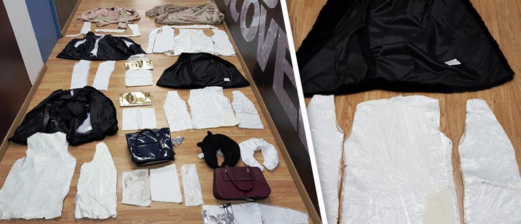 Χειροπέδες σε 32χρονη που έκρυβε στα ρούχα της 2,8 κιλά κοκαΐνη! (φωτο)