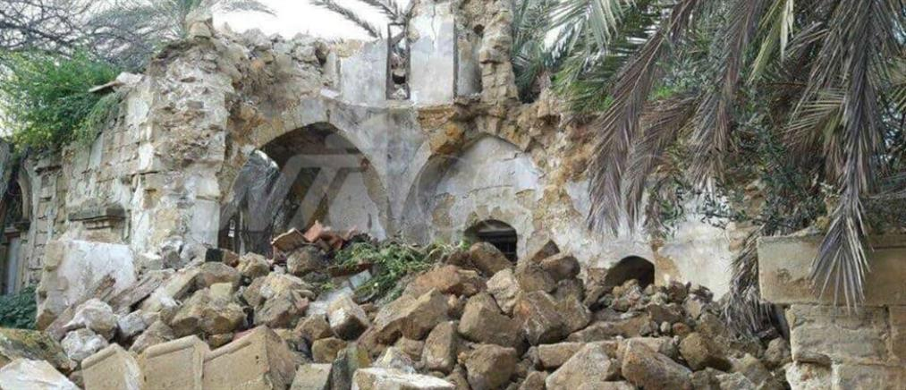 Κύπρος: κατέρρευσε ο ιστορικός ναός του Αγίου Ιακώβου (εικόνες)