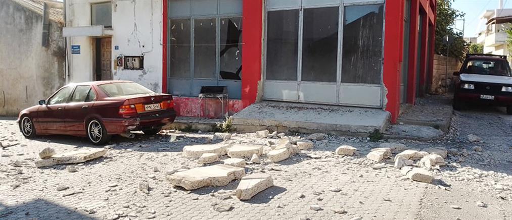 Σεισμός στην Κρήτη – Λέκκας: οι πολίτες να παραμείνουν έξω