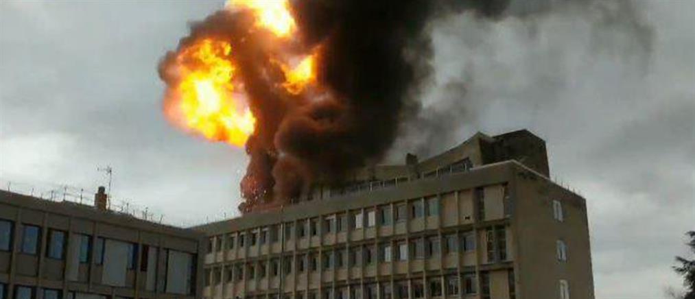 Έκρηξη σε Πανεπιστήμιο στην Λιόν (εικόνες)