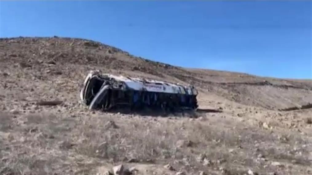 Λεωφορείο έπεσε σε χαράδρα στο Περού