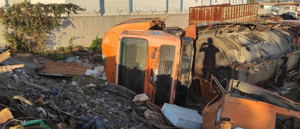 Κιλκίς: έκλεβαν δημοτικά οχήματα και τα πουλούσαν για παλιοσίδερα (εικόνες)